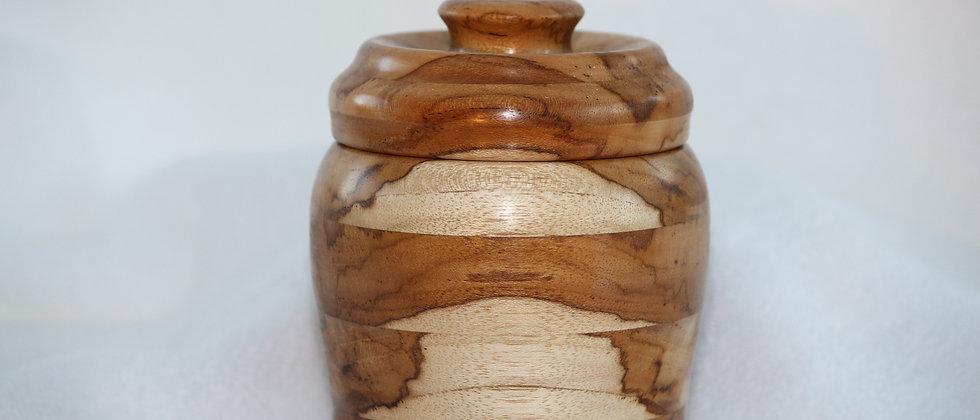 Boîte décorative avec couvercle - Plaine ambrosia