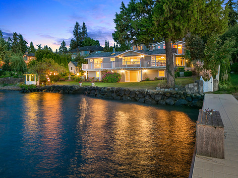 Mercer Island / Sold for $3,245,000