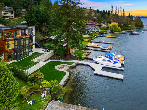Mercer Island / Sold for $5,500,000