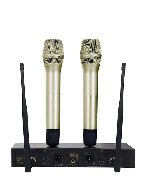 IDOLmain UHF-628 PREMIUM QUALITY SERIES LCD Wireless Karaoke Microphone IDOLPRO