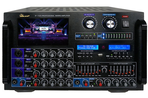IDOLmain IP-7500 8000W Max Output Professional Digital Console Mixing Amplifier