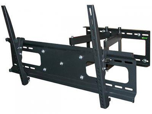 Full Motion Wall Mount for Large 37 - 70 inch TVs Max 132 lbs