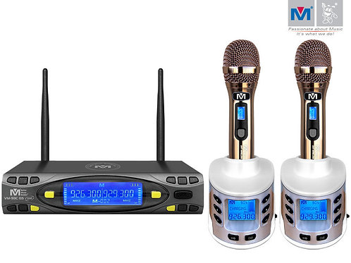 Better Music Builder » VM-93C G5 Pro UHF Rechargeable Wireless Microphone System