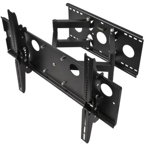 Full Motion Wall Mount for Large 32- 75 inch TVs 175lbs Black