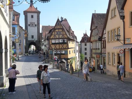 Reisen in Zeiten von Corona — Rothenburg ob der Tauber