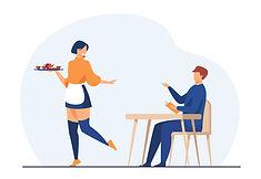 Customer and waitress in coffee shop.jpg