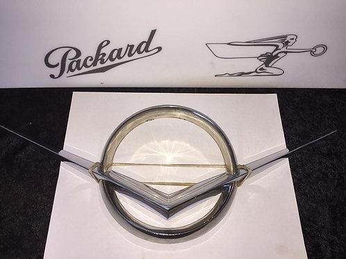 1956 Original Packard Trunk Emblem