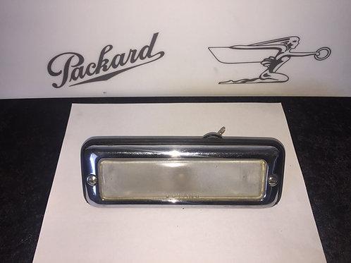 1941-1950 Packard License Plate Light w/ Rubber