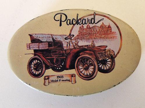 Packard 1903 Model F Tin Box