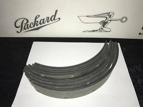 (W) 1937-1942 Packard 110 115 Series 1600-1900 Brake Lining Set