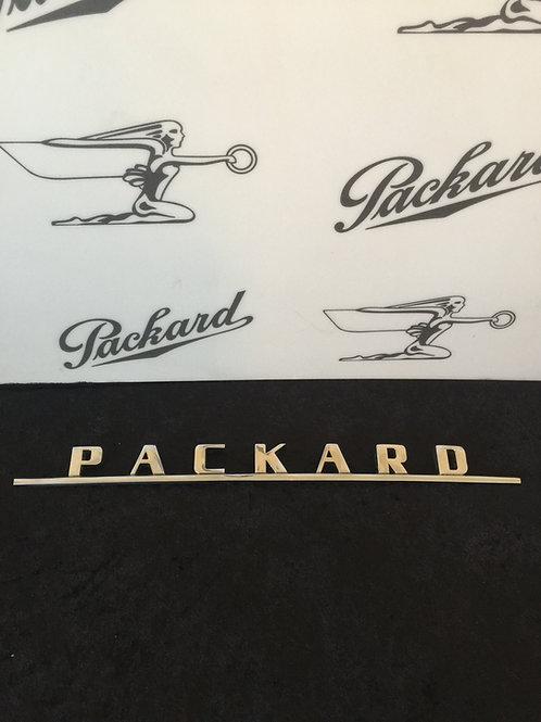1949-1950 Packard Re-Chromed Trunk Script