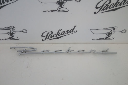 Packard Rear Quarter Script
