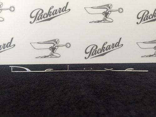 """Packard """"Deluxe"""" Emblem"""