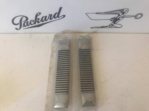 (T) 1955-1956 Packard Piller Side Trim NOS