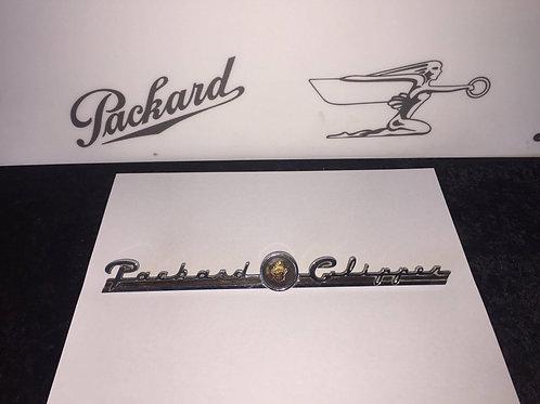1946-1947 Packard Dash Script
