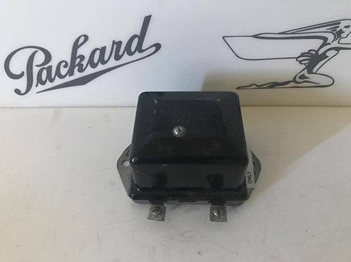 (F) 1937 Packard 115 Voltage Regulator
