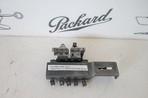 Packard Super 8 & 12 Headlight Switch Rebuilt