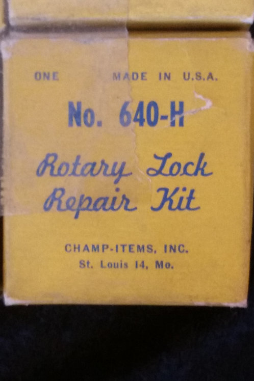 1953-1955 Plymouth Rotary Lock Repair Kit No 640-H