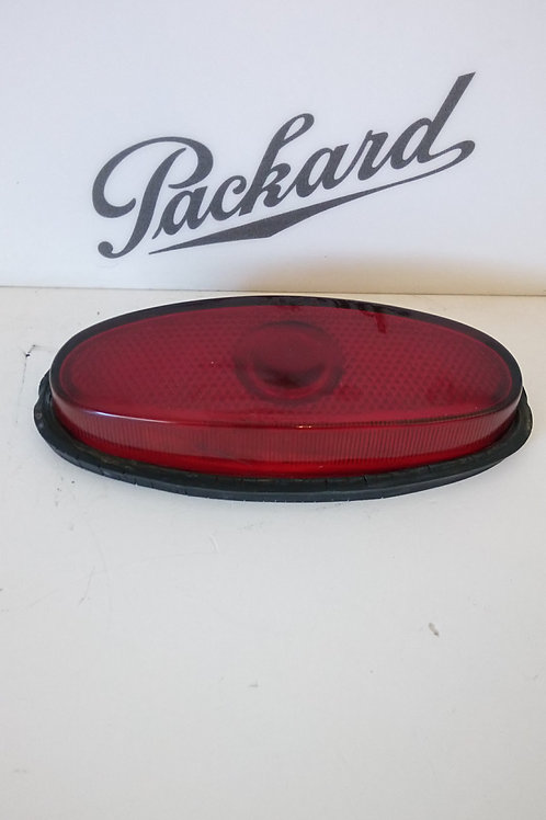 Standard 1950 Packard Tail Light Cover with Rubber Lining