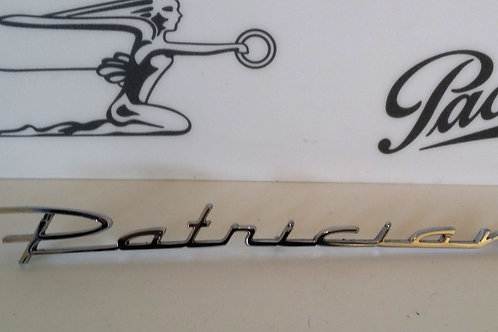 """Packard """"Patrician"""" Emblem"""