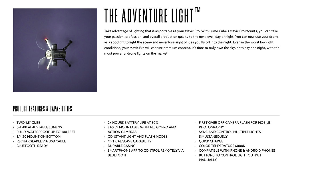 Lume Cube Lighting Systems