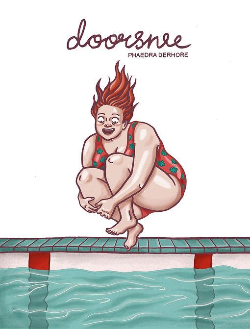 Doorsnee, graphic novel door Phaedra Derhore