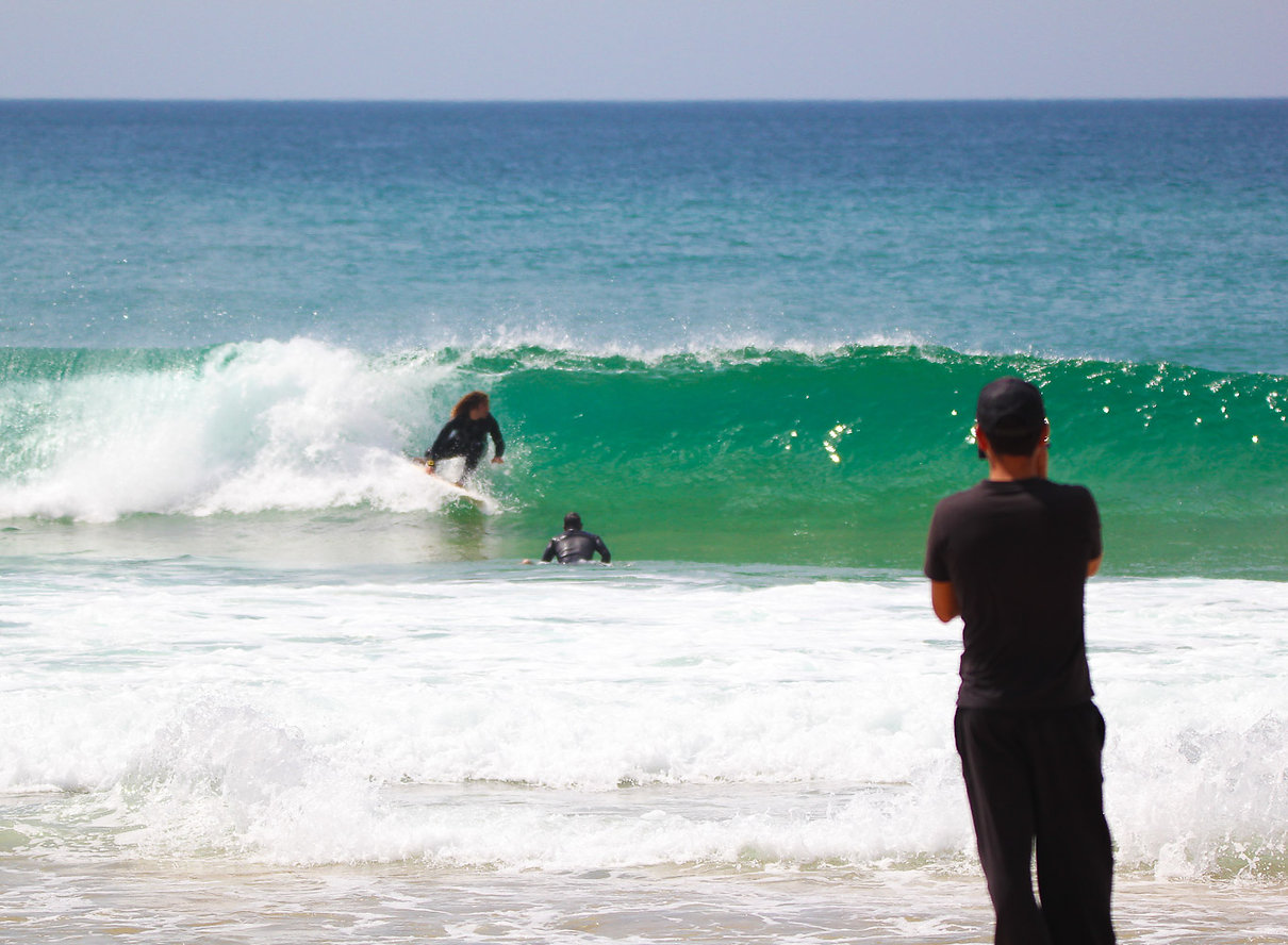 Surf lessons video and video analysis Portugal Organic