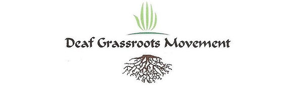 Deaf Grassroots Movement logo