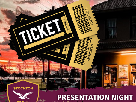Presentation Tickets On Sale Now!