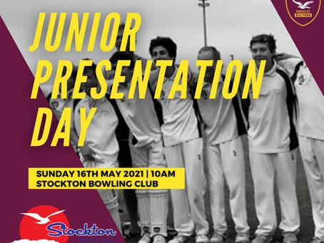 Junior Presentation Date Announced