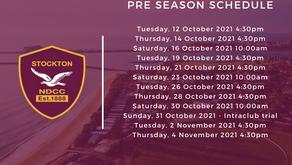 Club Announces Post Lockdown Training Schedule