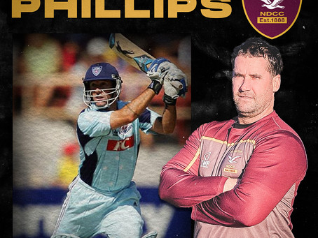 Steve Phillips returns to the club as part of the coaching team
