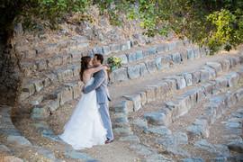 Cushing Memorial Amphitheater wedding.jp