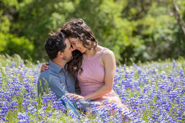 engagement photos in lupin flowers.jpg