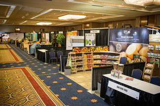 Show room floor at Monterey Confrence Ce