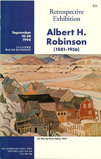 Albert H. Robinson (1881-1956)