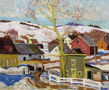 Hewton, Randolph - Winter, Charlevoix, o