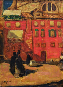 James W. Morrice - Old House, Venice, ca. 1903