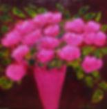 Pivoines roses, 40x40.jpg