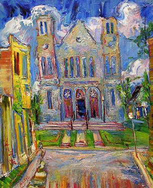 Borenstein, Sam - St. Agathe Church, 196