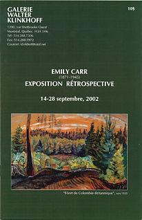 Emily Carr (1871-1945)