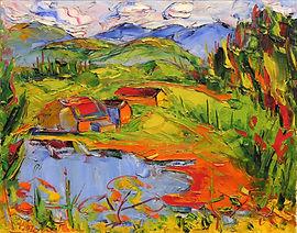 Sam Borenstein - Sainte-Lucie, lac Ménard, 1958