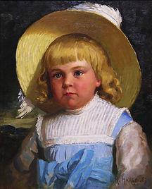 Robert Harris - Jeune demoiselle Fowler, 1881