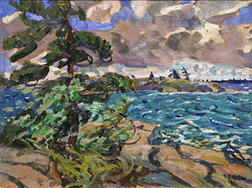 Arthur Lismer - A September Gale, Georgian Bay, 1921