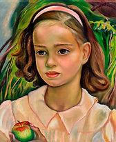 Heward, Prudence - Young Girl with Apple, 1943.jpg