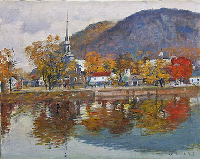 Autumn, St. Hiliare, oil on can 19.2 x 24, cleaned.jpg