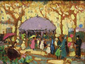 Sarah Robertson - Festival dans le parc, vers 1920