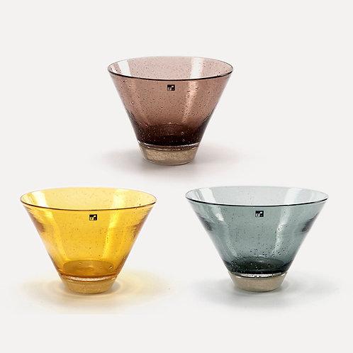Fresco Spot Glass Bowl