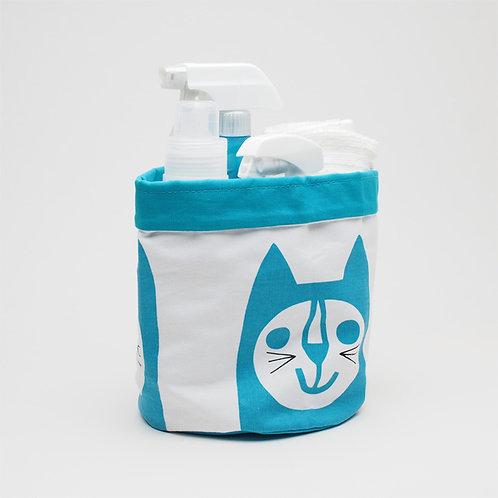 make int jane foster animal storage bag lion (blue cat)