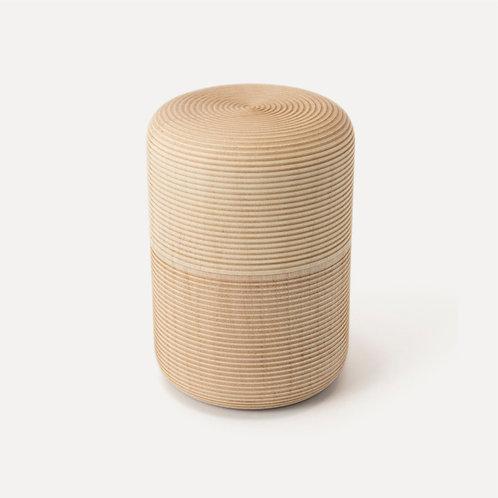 Gato Mikio Shoten - Karmi Handmade Tea Canisters - Tarawa-Soji (Medium)